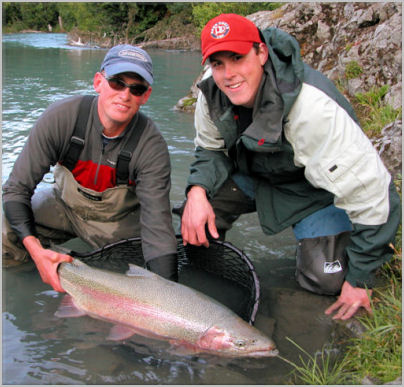 Kenai River Rainbow Giant Trout