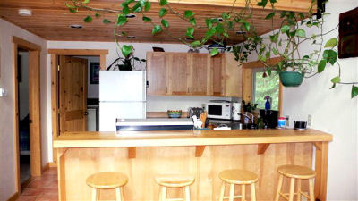 Kenai River Lodging Kitchen