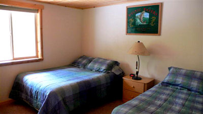 Kenai River Lodging Bedroom Downstairs