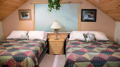 Upstairs Bedroom Kenai River Lodging