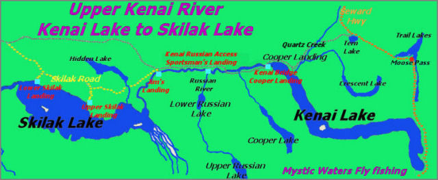 Upper Kenai River to Skilak Lake