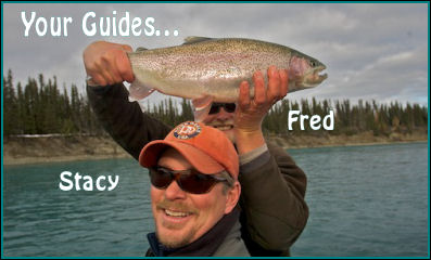 Fred Telleen and Stacy Corbin of Mystic Waters Fly Fishing