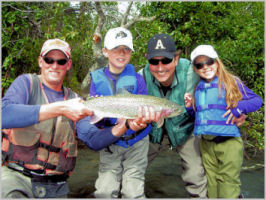 Kids can fly fish and have fun!